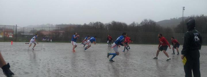 towers vs guardians en la segunda jornada de la v liga gallega de flag